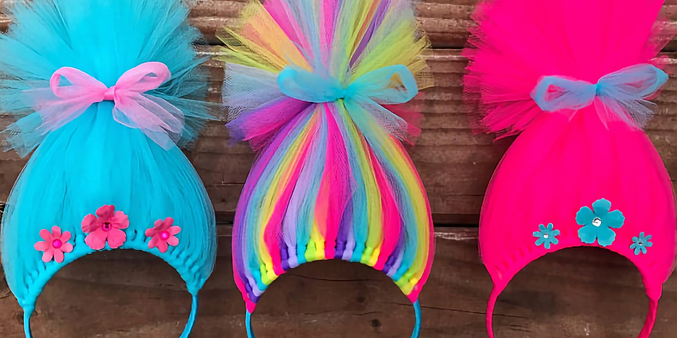 """Troll Hair"" Headband Workshop"