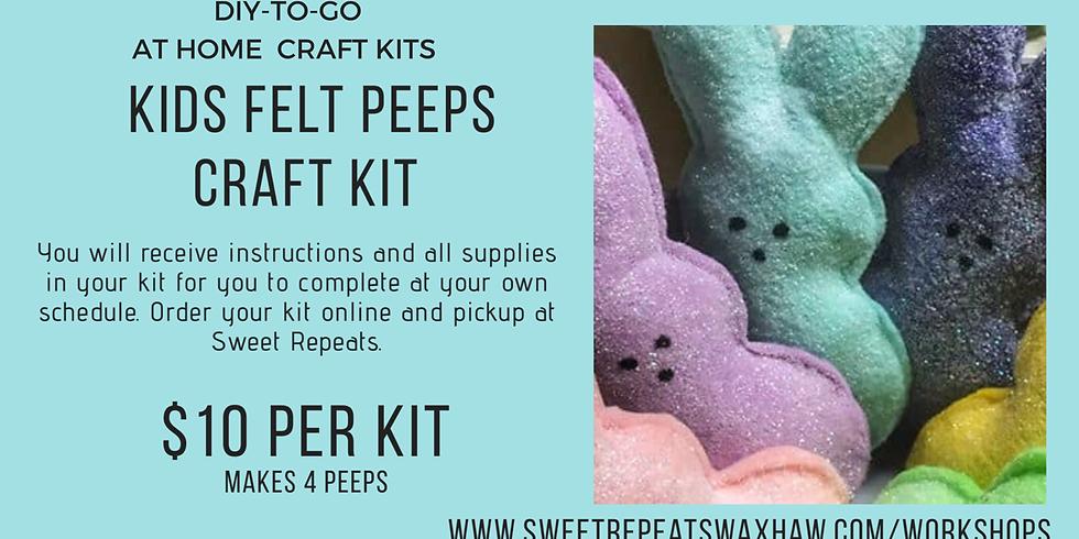 Kids At Home Felt peeps craft Kit