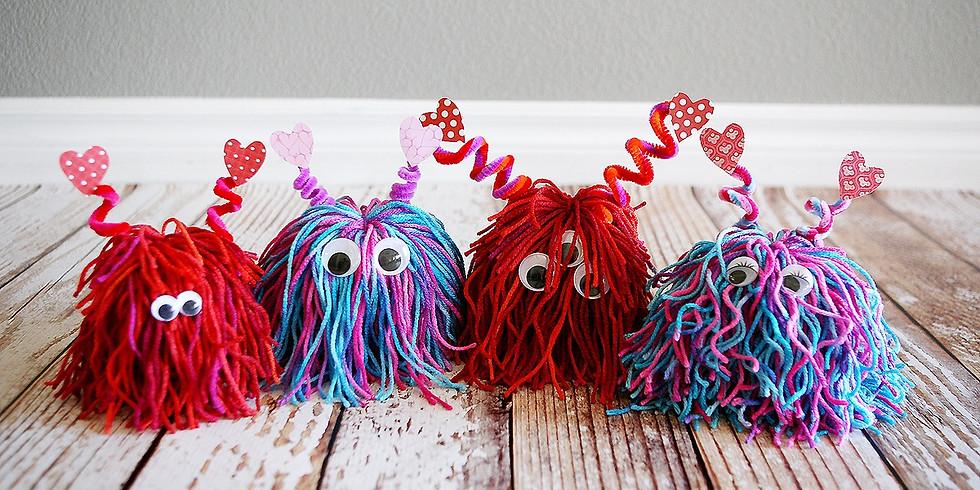 Kids Lil Yarn Monsters Workshop