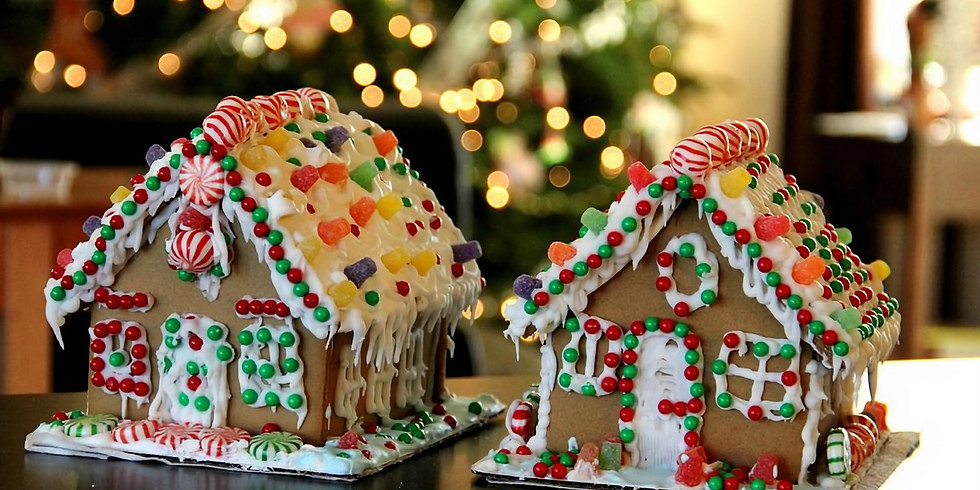 Kid's Gingerbread House Party