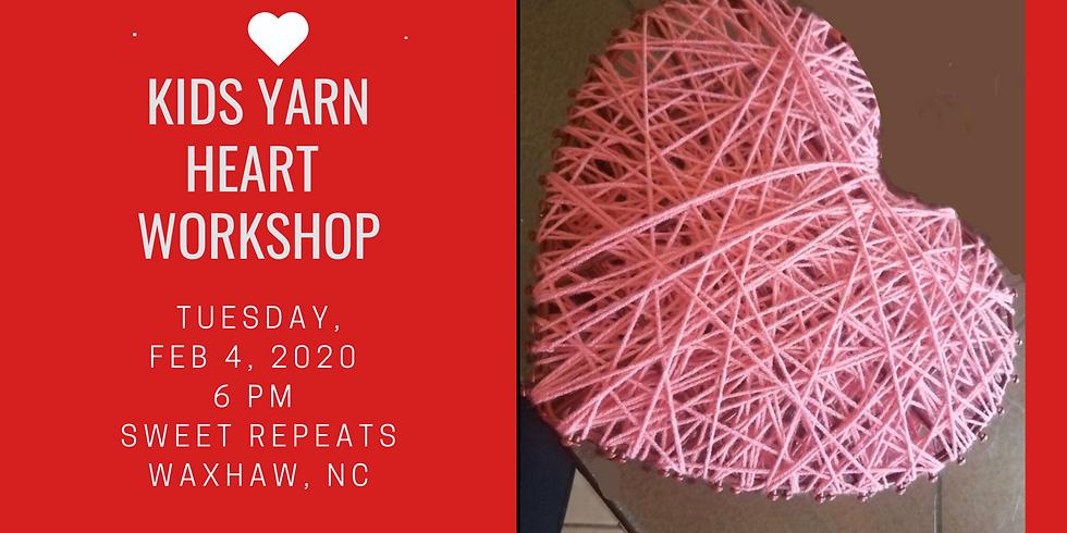Kids Yarn Heart Workshop