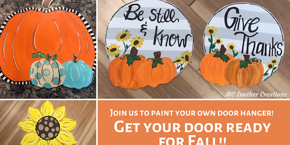Ladies Night - Learn to Paint Your Own Fall Door Hanger