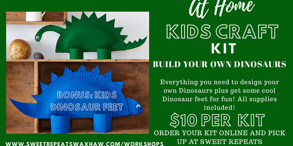 Build your own 2 Dinosaurs - at Home kit