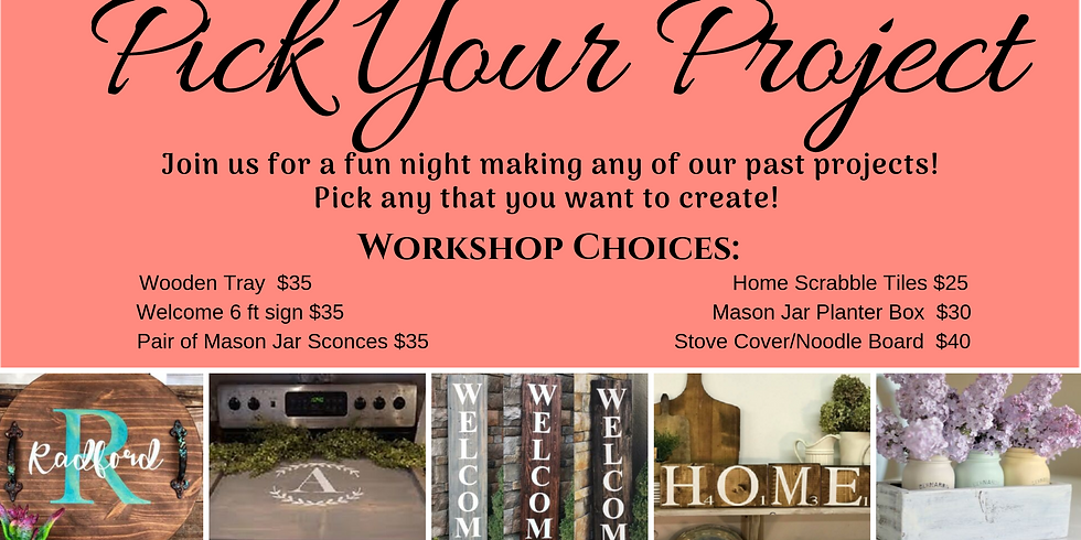 Pick Your Project - Open Workshop Night