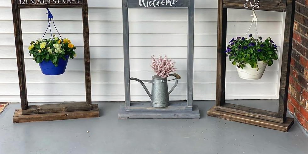 Ladies Night Out-Hanging Planter Stand