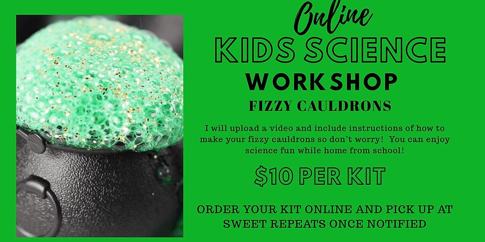 Kids ONLINE Fizzy Cauldron Science kit