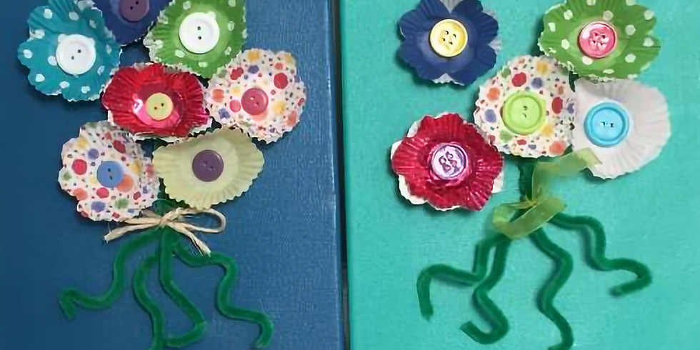 Spring Flower Canvas Workshop