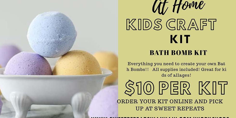 At Home Bath Bomb Kit
