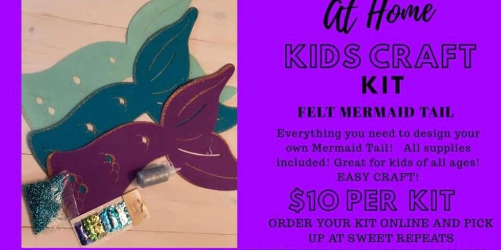 AT HOME Kids Felt Mermaid Craft Kit