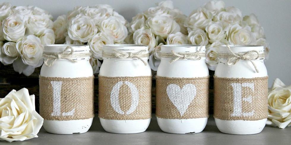 Ladies Night Out-Love Mason Jar Set