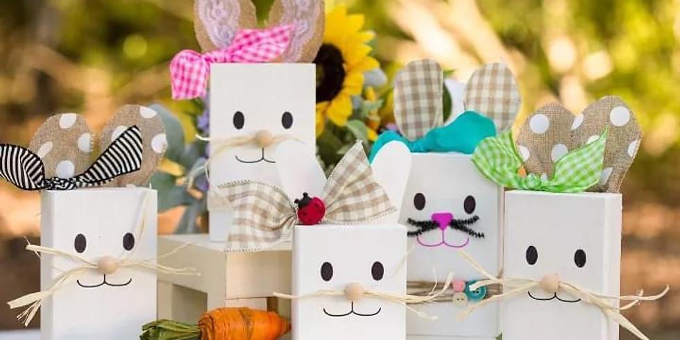 Trailblazers Co-op Bunny Blocks Workshop