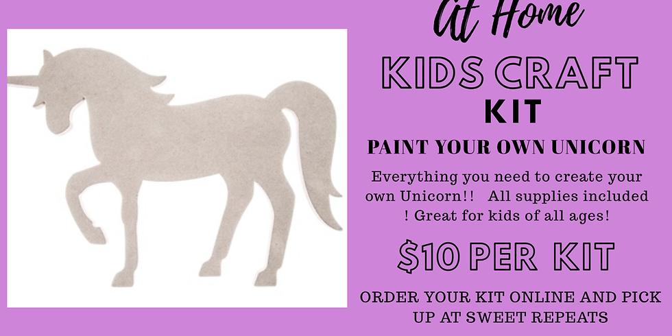 DIY 2 GO-paint your own Unicorn!