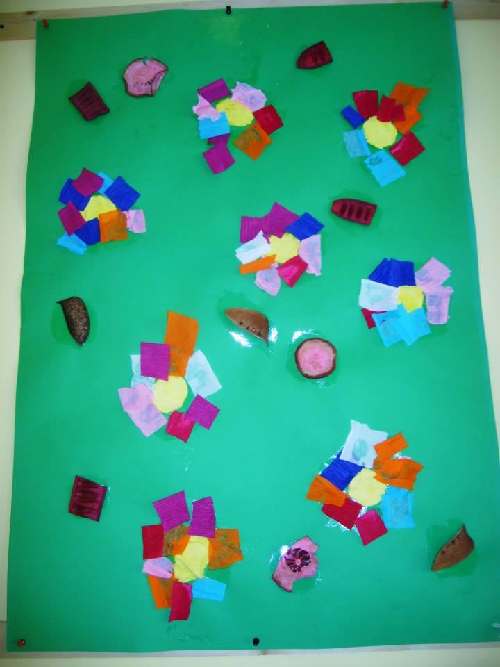 Cartellone fiori