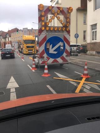 Verkehrssicherung K&T Verkehrsleitung