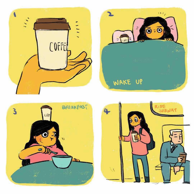 A Day in the Life of New Yorker Coffee 1