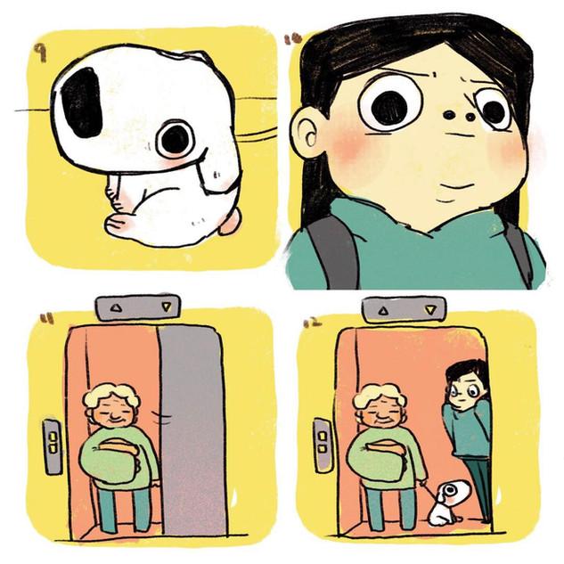 Elevator Doggie 3