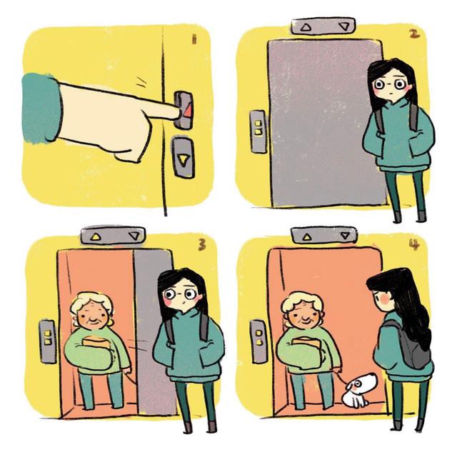 Elevator Doggie 1