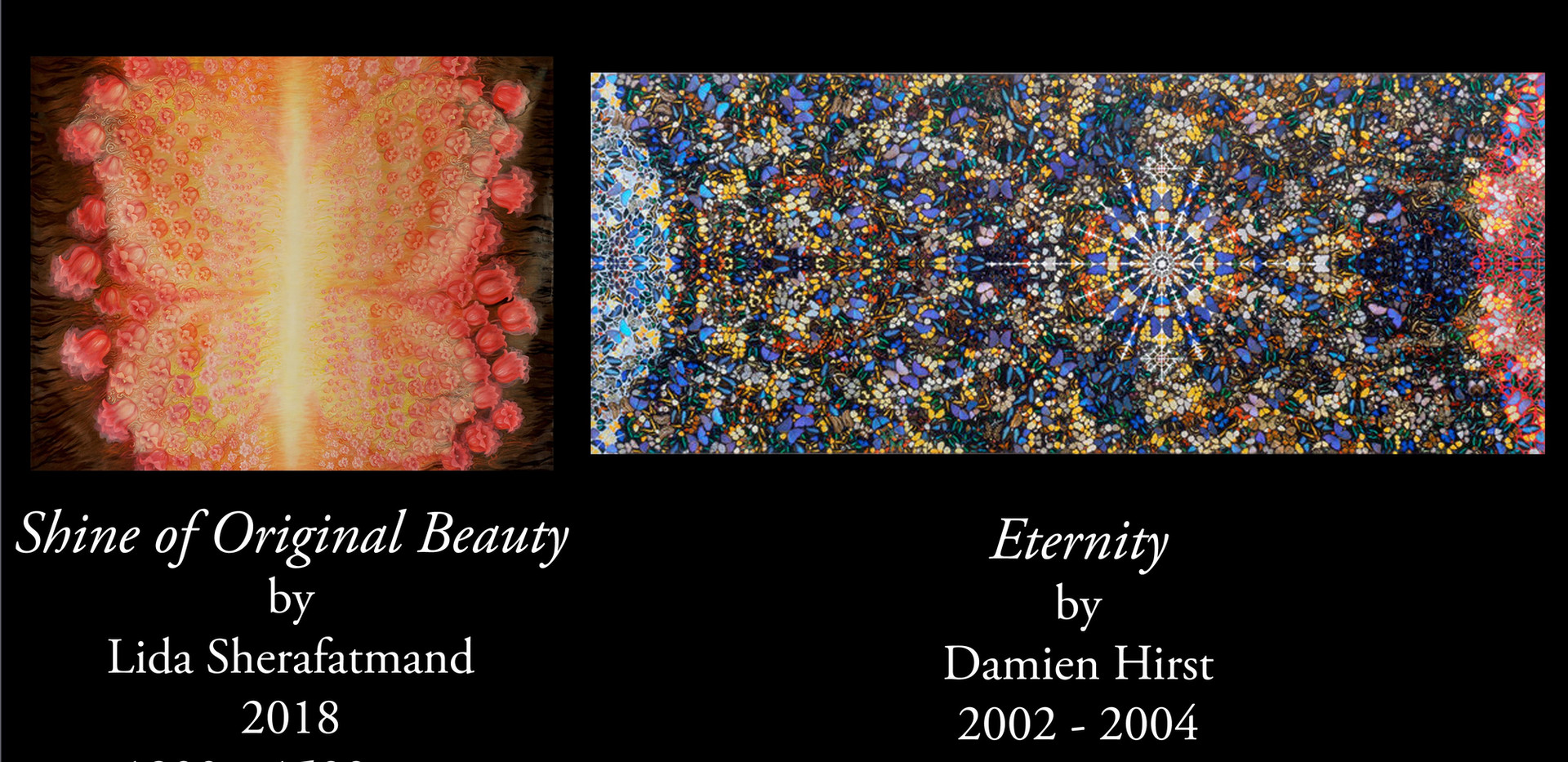 """Shine of Original Beauty"" dialoguing with ""Eternity"""