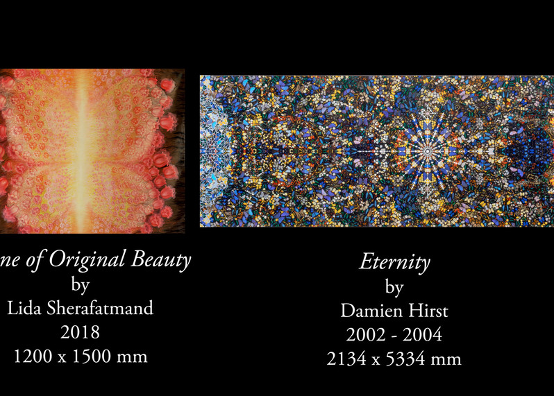 """""""Shine of Original Beauty"""" dialoguing with """"Eternity"""""""