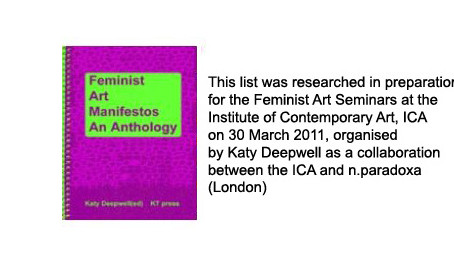 """Humanitarian Art Manifesto"" (2004-2011)"