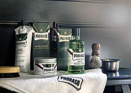מוצרי גילוח פרורסו תוצרת איטליה