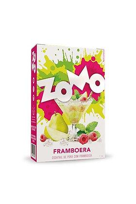 Zomo Framboera - קוקטייל מיוחד של פטל ואגס קפואים