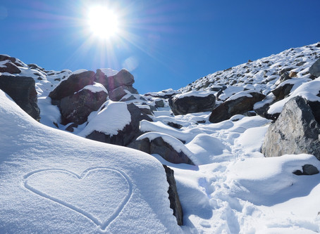 Good news and bad news, but a brighter horizon for our glaciers?