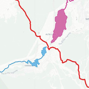 Whistler's watershed divide
