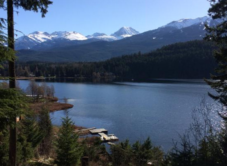 Whistler's Lakes: A special gift from the Ice Age