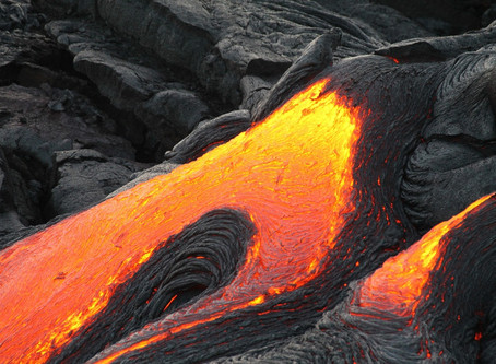 A short story of lava and ice: It's written in the rocks
