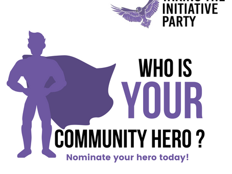 What is the Community heroes award?