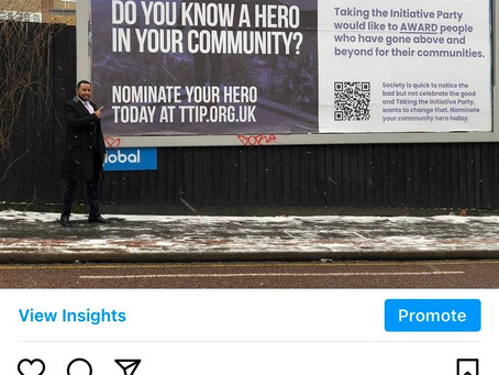 More billboards go up as a reminder to nominate your community hero!
