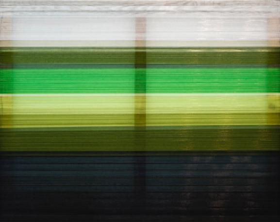 Green, 2018 Mixed media on canvas, 110 x 140 cm