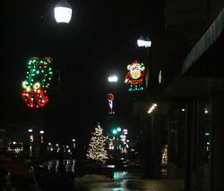 Downtown Hiawatha Christmas 2018
