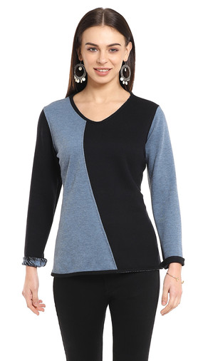Reversible Two-Tone Top