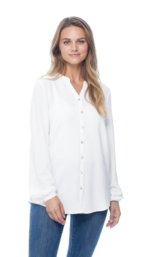 Embellished Buttons Blouse