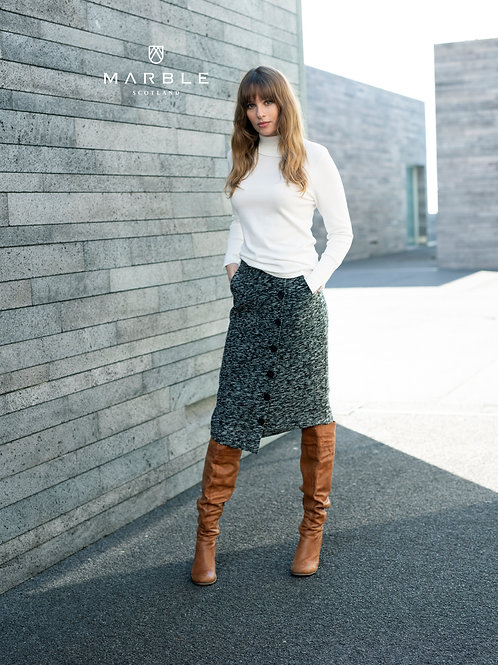Tweed Asymmetrical Skrit