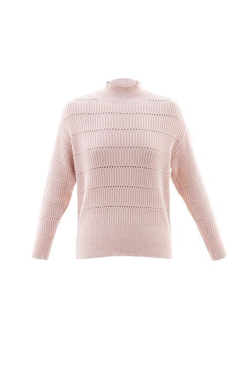 Pointelle Oversized Sweater