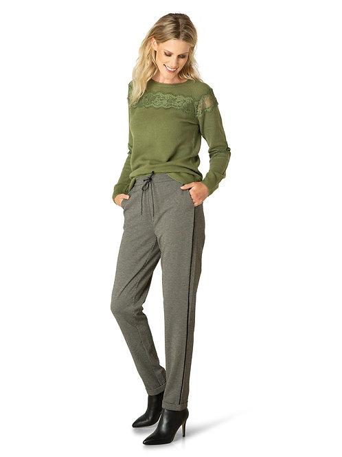 Tweed Drawstring Pant