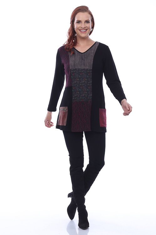Patchwork Pocket Tunic