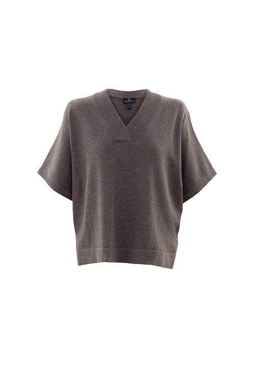 V-Neck Dolman Slv Sweater