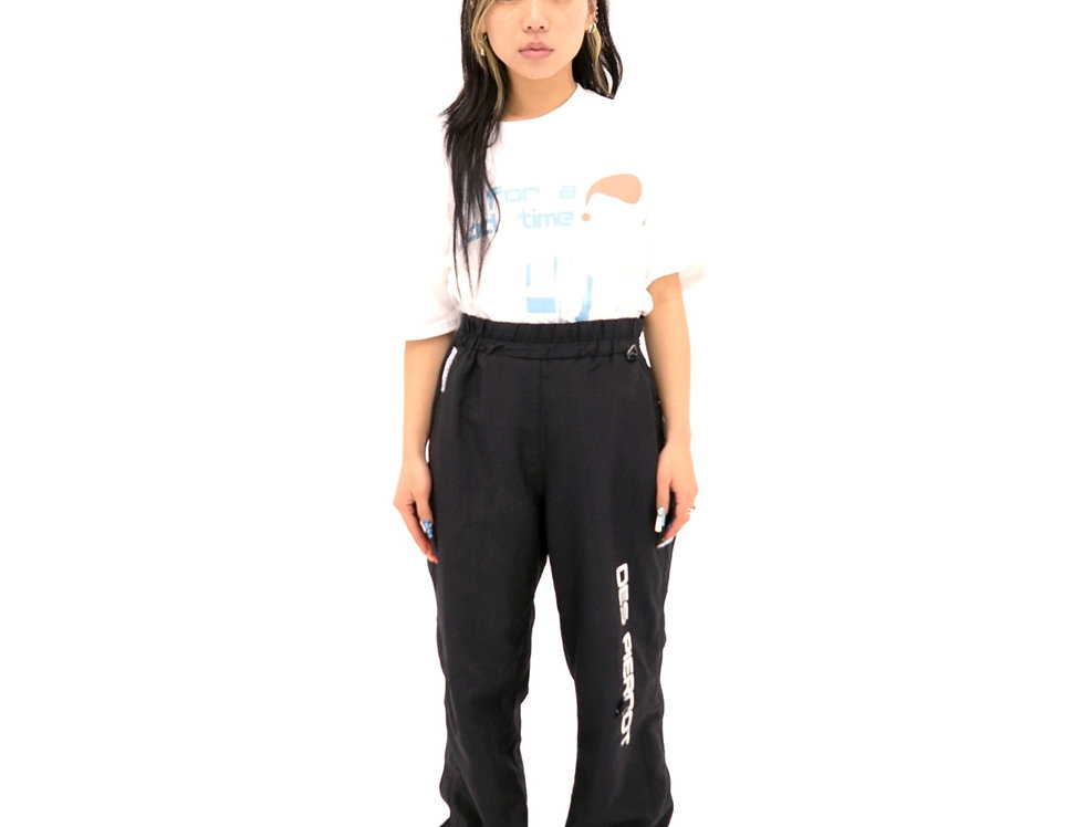 waist snatched track pant
