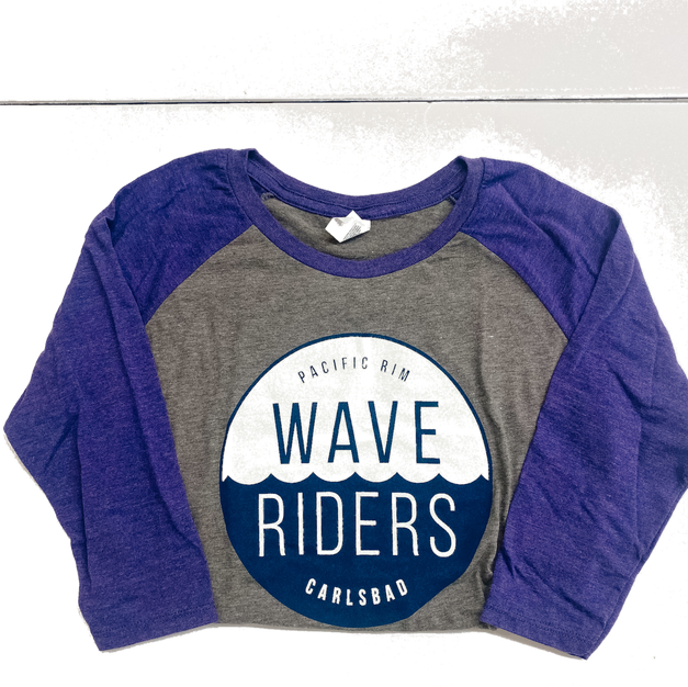 Women's Raglan-Purple