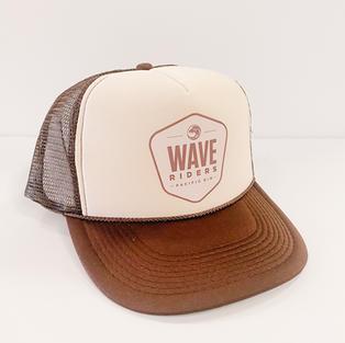 Adult Hat- Brown/Cream