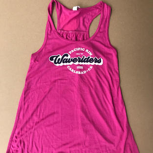 Women's Tank- Pink Berry