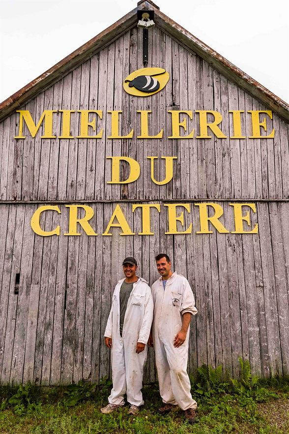 MIELLERIE_CRATERE_CHARLEVOIX_MATHIEU GAUTHIER_DANIEL ROBICHAUD