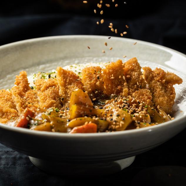 Syogun Sushi Deep Fried Pork Curry Don