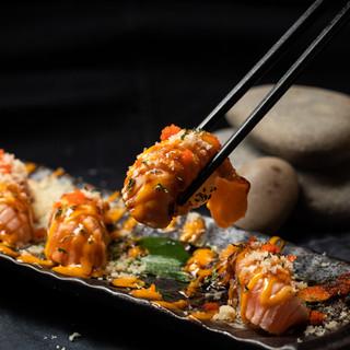Salmon Torched Sushi Syogun