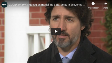Trudeau Update Canadians on COVID-19 Pandemic | January 15
