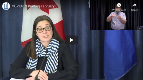City of Toronto COVID-19 Briefing   February 8